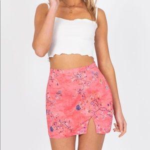 Pink princess polly mini skirt ! worn once